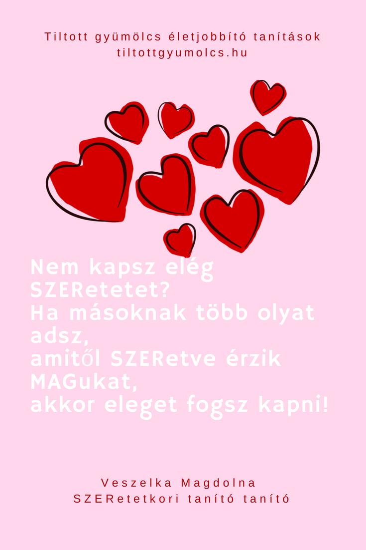 ismerje meg a szeretet mondások